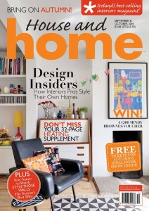 House and Home Magazine Sept/Oct 2014