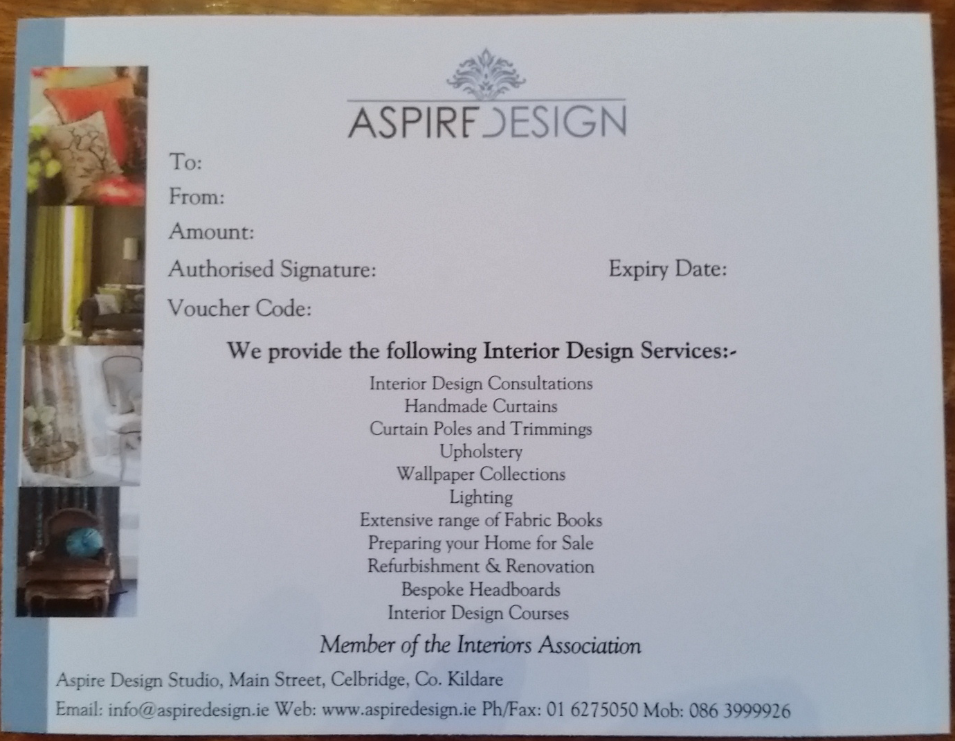 The full interior design consultation service aspire design for Interior design consultation